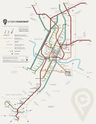 Map Of Ut Austin by Austin Urban Rail In 7 Maps Kut