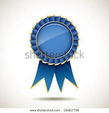 blue and gold ribbon ribbon award stock images royalty free images vectors