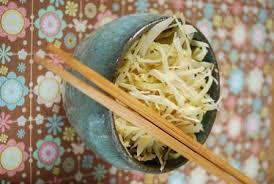 comment cuisiner le chou blanc salade de chou à la japonaise clea cuisine