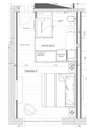 plan dressing chambre plan chambre parentale avec salle de bain et dressing 1