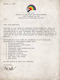 ljn employee letter the angry video game nerd know your meme