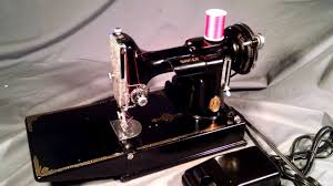 serviced rewired vintage 1938 singer 221 1 featherweight sewing