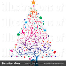 christmas tree clipart 231237 illustration by milsiart
