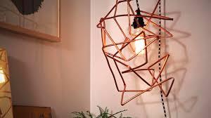Pendant Light Diy Diy Geometric Pendant Light Hgtv