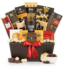 thank you baskets deluxe thank you selection gourmet thank you gift basket