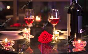 cena al lume di candela cena a lume di candela romantico â foto stock â kieferpix 104009768
