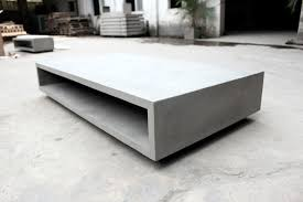 Contemporary Coffee Table Coffee Table Stunning Contemporary Concrete Coffee Table Design