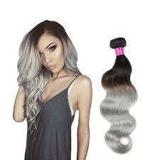 silver hair extensions silver gray wavy human hair extensions human hair extensions by