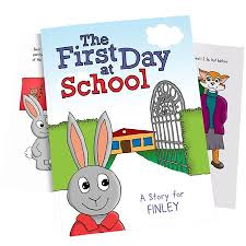 day at school personalised book personalised books