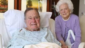 George H W Bush Date Of Birth Former President George H W Bush Released From Hospital Cnnpolitics