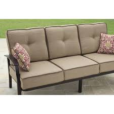 Walmart Patio Conversation Sets Mainstays Wentworth 5 Piece Patio Conversation Set With Fire Pit