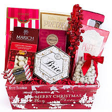 Christmas Cookie Gift Basket Merry Christmas Gift Basket