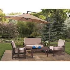 Patio Umbrellas Stands by Decorating Beautiful Red Cheap Costco Patio Umbrella With Black