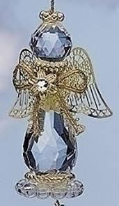 birthstone ornaments 3 25 april birthstone gem angel christmas ornament by