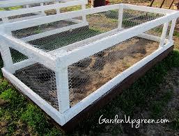 how to make a raised garden bed cheap gardening ideas