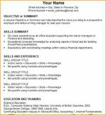 how to write a resume for your 28 images exles of resumes 23