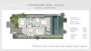 gallery phuket two bedroom pool villa for sale baba beach club