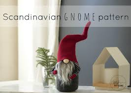 claus the scandinavian christmas gnome pattern by nordikatja