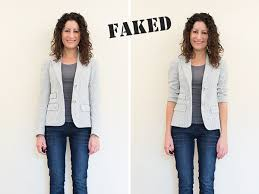 faking fit alterations needed