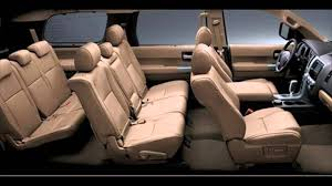suv toyota inside toyota sequoia 2016 car specifications and features interior