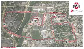 Indiana State University Campus Map by Ohiostatebuckeyes Com Traffic And Parking Update Nov 8 Nov