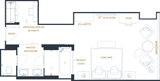 floor plan hotel 5 star luxury hotel room chicago the langham chicago