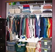 how to organize a closet clothes without shelves u2014 steveb interior