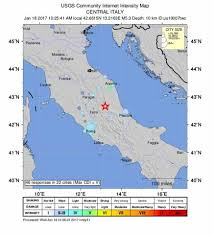 Italy Map Cities by Rome Struck By Three Earthquakes In One Hour In Latest Disaster To