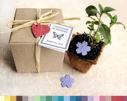 seed favors plantable paper wedding favors flower herb seed by recycledideas