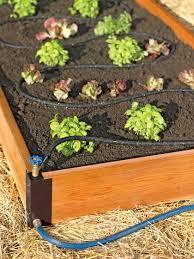 raised bed soaker systems raised bed irrigation gardener u0027s supply