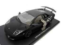 lamborghini murcielago sv black hobby toraya rakuten global market 1 18 autoart lamborghini