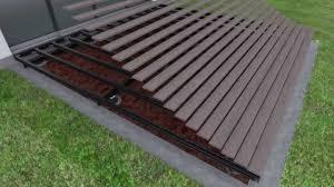 how to install deck footings exclusive ideas deck footings