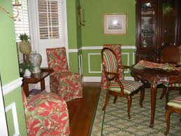 dining room chair slip covers decorating slipcovered chairs parsons chair slipcovers