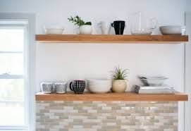 kitchen sheved learn how to hang open kitchen shelves floating shelves an easy way