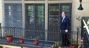 Solar Venetian Blinds Hella Exterior Venetian Blinds Can Be Automated For Light Control