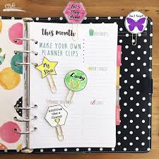 your own planner make your own planner or bookmark with shrinky dinks craft