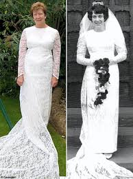my wedding dresses i shed 4 so that i could wear my wedding dress on our 42nd
