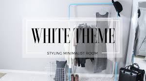 all white bedroom youtube