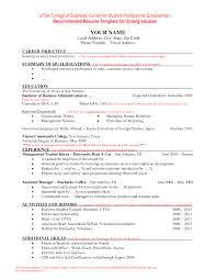current resume exles current resume templates current college student resume template
