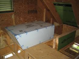 backyards how insulate attic door steps with pictures step