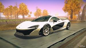 mclaren p1 custom paint job mclaren for gta san andreas page 4