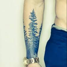 his lower arm forest tree tattooshunter com