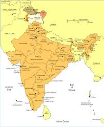 India States Map by India Political Map Political Map Of India India Polical Map