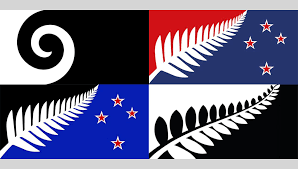 Flag New Zealand Design As Public Trust 2020 Olympics Logo New Zealand U0027s Flag