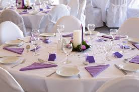Purple Table L 47 Wedding Decor Table Settings Purple Table Decoration Idea For