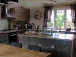 cuisine exemple decoration exemple de cuisine avec ilot central cuisine avec ilot