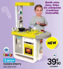 cuisine enfant carrefour carrefour promotion cuisine cherry smoby cuisines jouets