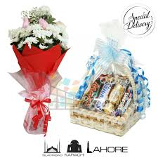 chocolate basket delivery chocolate basket any flower bouquet with delivery at midnight