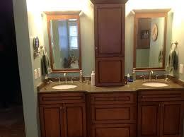 sensational kraftmaid bathroom mirrors vanity oval for mirror