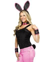 rabbit costume instant bunny set black as rabbit costume accessories